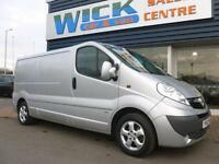 2012 Vauxhall VIVARO 2900 CDTI SPORTIVE LWB 115ps Van *SAT NAV* Manual Medium Va