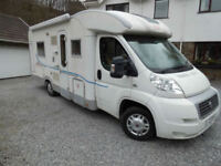 2009 Adria Coral 4 Berth with Full Width End Washroom and Fixed Rear Bed