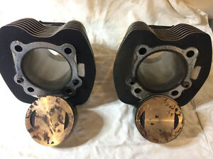 Harley Davidson Jugs and Pistons