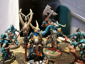 Warhammer beastgrave set with two fully painted warbands