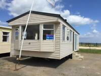 Willerby Richmond 12 foot heated Caravan Sea View pitch 25 miles to Scarborough