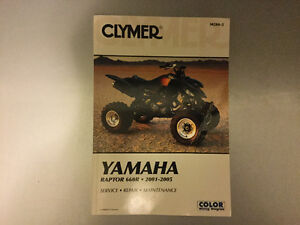 2001-2005 Yamaha YFM600R Raptor 660R ATV Repair Manual