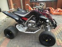 YAMAHA RAPTOR 700 SPECIAL EDITION ROAD LEGAL QUAD BIKE 56 REG