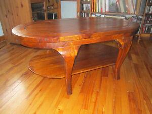 Table basse de salon en teck à vendre