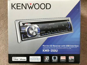 Kenwood Marine CD with USB Interface KMR-350U
