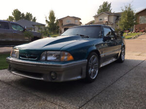 1993 Ford Mustang GT. Roller.
