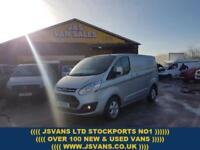 2016 16 FORD TRANSIT CUSTOM LIMITED LR 125 BHP 2016/16 REG ONLY 310