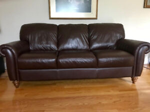 Your chance to purchase a stunning fine leather sofa set