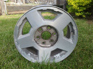 Four Aluminum 6 Bolt Rims