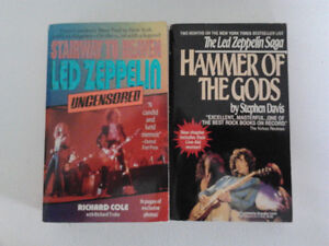 Set of 2 Led Zeppelin biographies