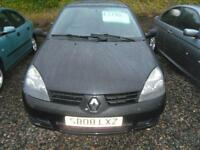 2008 RENAULT CLIO 1.2 Campus 2007 IDEAL 1ST CAR NICE IN BLACK