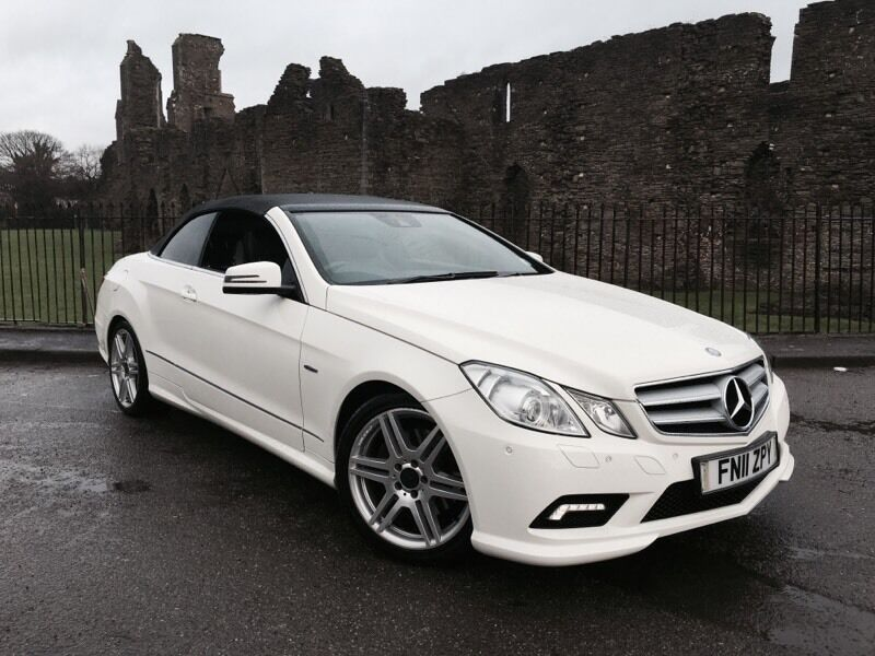 2011 11 reg mercedes benz e class e350 cdi convertible. Black Bedroom Furniture Sets. Home Design Ideas