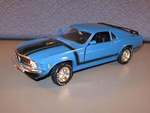 ERTL AMERICAN MUSCLE 1970 Ford Mustang Boss  1/18 Die Cast Car