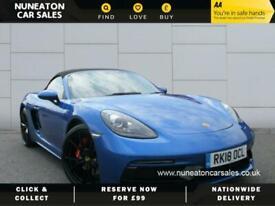 image for 2018 Porsche 718 BOXSTER GTS Convertible Petrol Manual
