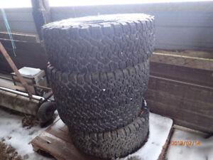 All-Terrain B-F Goodrich Tires