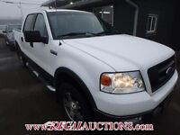 2005 FORD F150 SUPERCREW 4WD