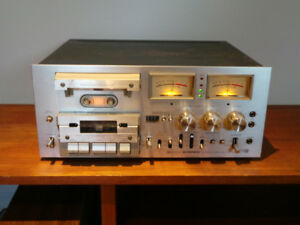 Pioneer Stereo Cassette Tape Deck CT-F1000