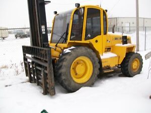 2005  JCB 940 Forklift and 2007 S80 Sellick