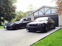 02 BMW E46 M3 6S Manual Carbon Black w/ Red Leather Interior