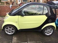 2002 smart car city, 12months mot, 69k, £30 per year tax.