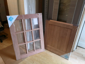 Stable door External unglazed 9 panels (LPD)