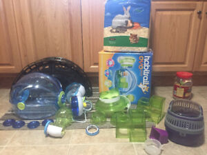 Hamster cage/accessories