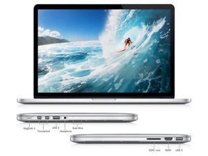"new price: Macbook Pro 13"" Retina / Core i7 2.9-3.5GHz 8GB 500GB"