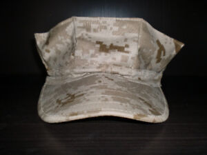 Digital Desert Camouflage Military Utility 8 Pointed Cap