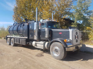 Kenworth and Pete Vac trucks for sale.