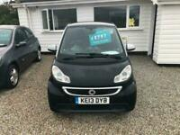 2013 smart fortwo coupe Passion mhd 2dr Softouch Auto [2010] Coupe Petrol Automa