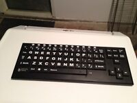 Keyboard for the visually impaired