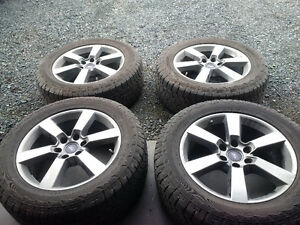 """20"""" FORD RIMS WITH TIRES"""