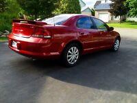 2002 Chrysler Sebring.