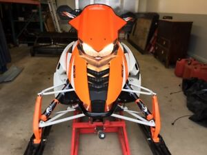 2013 Arctic Cat F-1100 Turbo trade for Chevy Nova