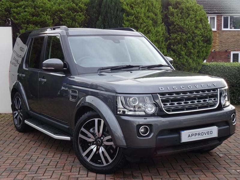 Land Rover Discovery 4 Van Se Commercial Sd V6 Auto Grey