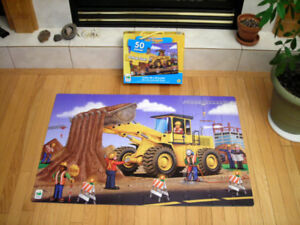 The Learning Journey Dirt Digger Jumbo Floor Puzzle