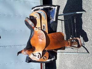 Big Horn Show Saddle!