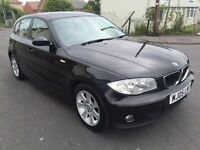 bmw 116i 12 month mot, black, full service history!