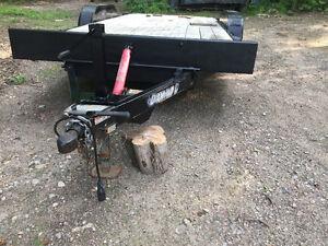 Diamond Tilt and load car hauler trailer