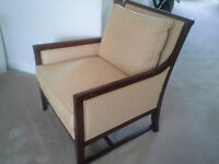 HIgh end upholstered chair