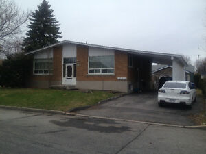 valleyfield beau grand 5 1/2 au sous-sol avec 2 chambres 595 $