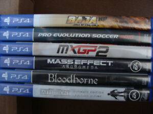 PS4 GAMES PLAY STATION 4