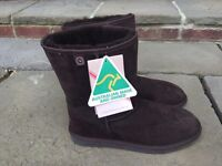Male Ugg Boots UK size 9, chocolate brown £95