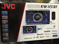 JVC Touchscreen Double DIN Car Stereo DVD/HDMI - Like New
