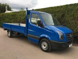 2010 Volkswagen Crafter CR35 2.5 Blue - 14ft DROPSIDE FLATBED PICK UP