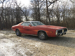 Original 1973 Dodge Charger ralley R/T