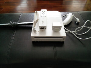 Wii Gaming system + 3 games