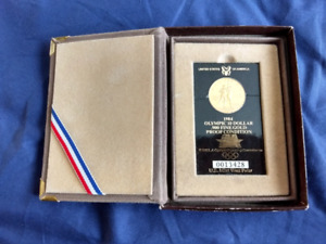 1984 Olympic Gold 10 Dollar Coin