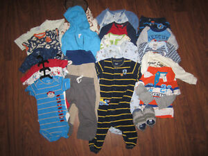 Baby Boys - 9-12 Month Lot (74 pieces)
