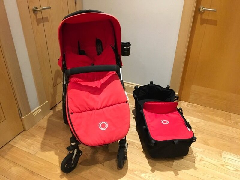 Bugaboo Cameleon 3 - Red With Extras